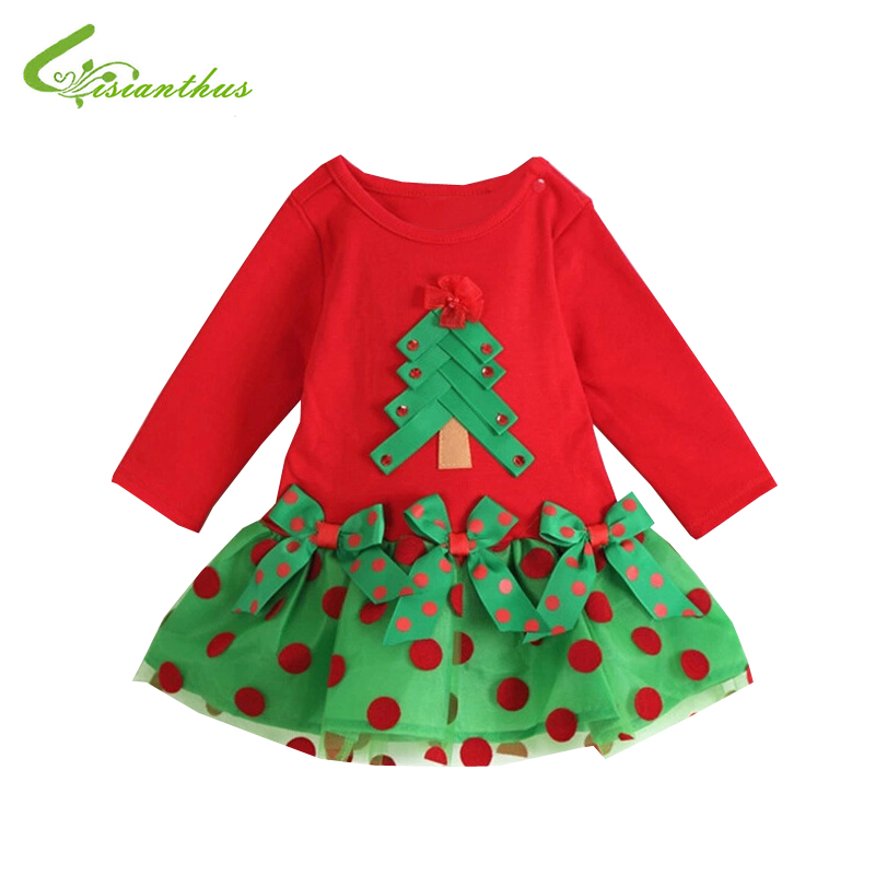 Clothing christmas tree amp dots free ship in dresses from mother amp kids
