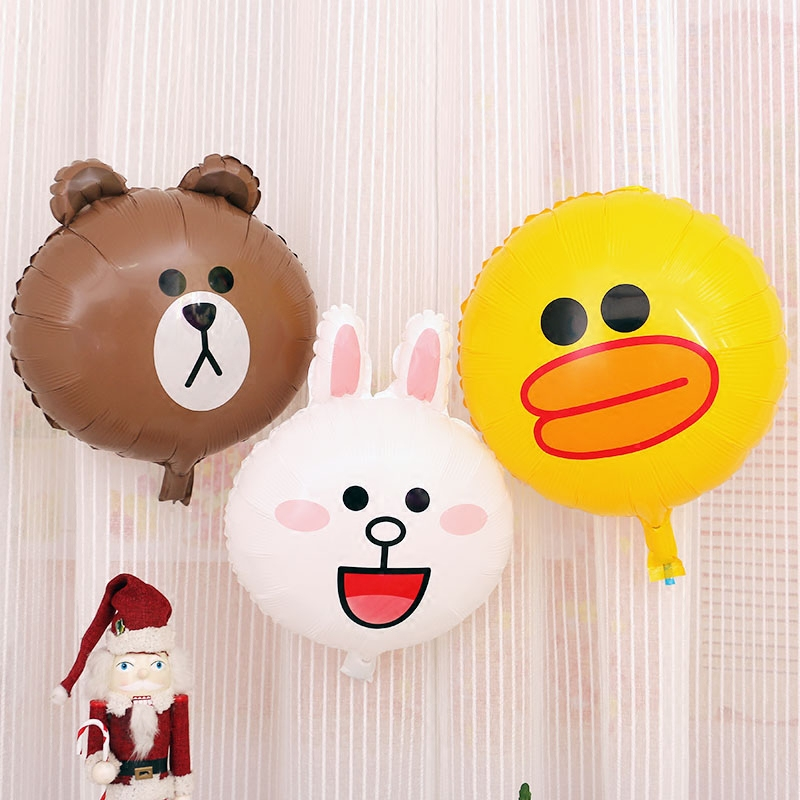3Pcs/Lot Easter Balloons Happy Birthday Party Foil Balloons Kids Toys Christmas Animal Easter Rabbit Inflatable Air Balls(China (Mainland))