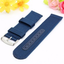 18 20 22 24mm Militray Sport Nylon Canvas Wrist Watch Band Replacement Strap Hot Selling Wholesale
