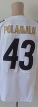 7 Ben Roethlisberger Jersey #26 LeVeon Bell Jersey #84 Antonio Brown Jersey 43 Troy Polamalu Elite Jersey Black White Size:M-3XL(China (Mainland))