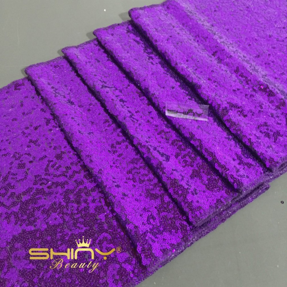 SALE Purple Sequin Table Runner 12''x90'' Purple Sequin Table Cloth Wholesale Christmas Sequin Table Cloths Sequin Linens(China (Mainland))