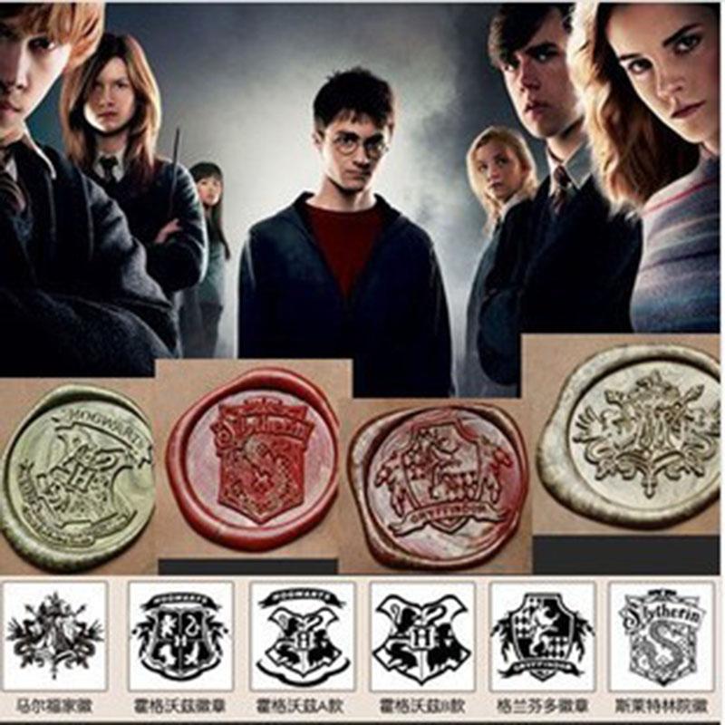 Vintage Creative Wax Seal Stamp Harry Potter Hogwarts  Single stamp set / personal DIY  stamp / nice stamp gift<br><br>Aliexpress