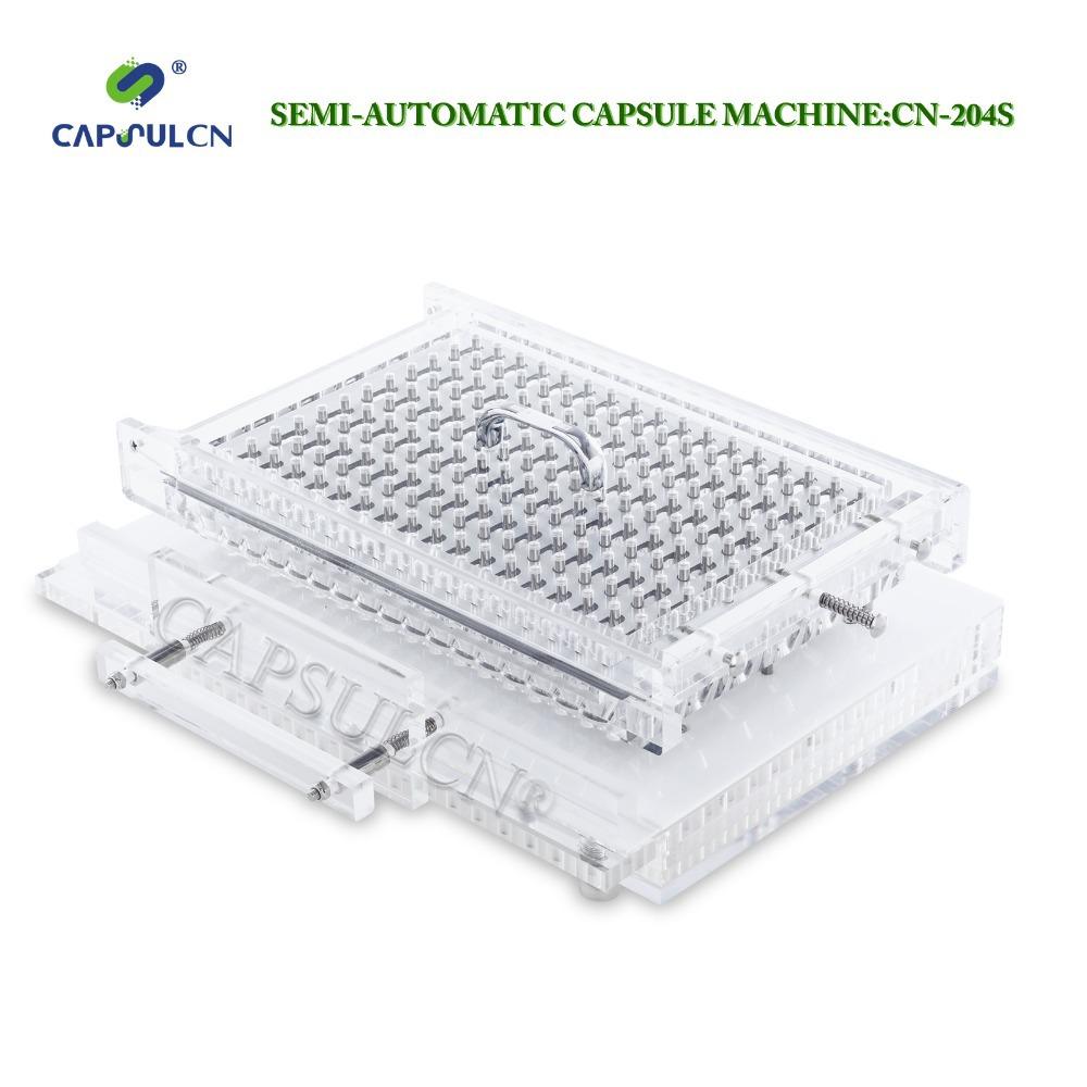 2015 Size 000 New Semi-auto capsule filler CN-204S/capsule filling machine 000/capsule - CAPSULCN NO.1 STORE store