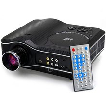 DHL Free KSD-388 High Resolution 80 Lumens 800 x 600 Pixels Home Entertainment Projector Support USB SD Card Input proyector(China (Mainland))