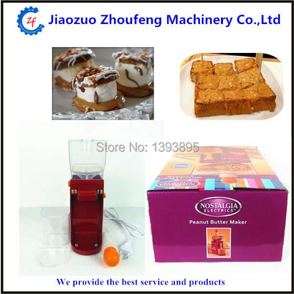 Mini home use peanut butter maker machine cashew almond hazelnut macadamia nuts butter grinding machine(China (Mainland))