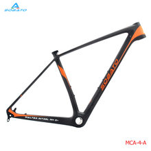 Buy 2016 Upgraded design Sobato Carbon Frame MTB 29er,Disc Post Mount, BSA matte/glossy Finish,Size15',17' 19',For Bike Bicycle for $409.00 in AliExpress store