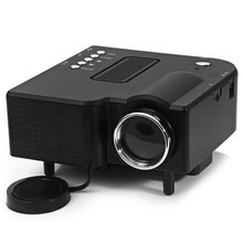 TOPS Black White UC40 Two Colors High Definition 400 Lumens Home Mini LED Projector Support AV SD VGA HDMI LCD + LED Projection(China (Mainland))