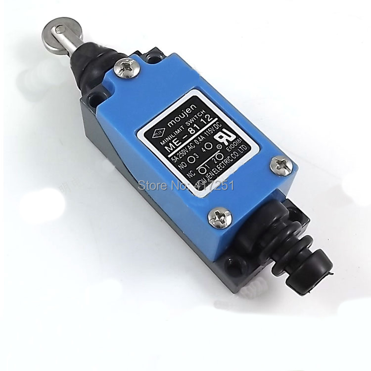 ME-8112 Roller Plunger Enclosed Momentary Limit Switch 1NO 1NC 250VAC 5A<br><br>Aliexpress