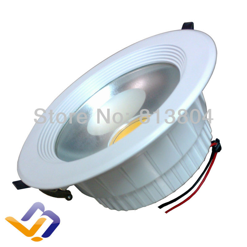 Free shipping !!Wholesale led 15W downlights Dimmable COB Lamp Warranty 3 Years Super Bright 15 Watt LED Downlight(China (Mainland))