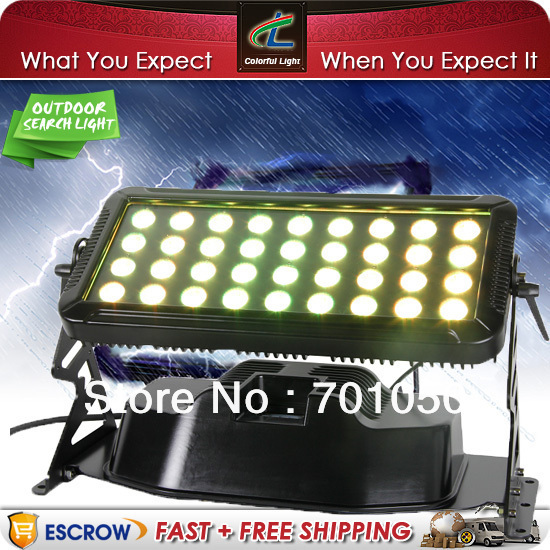 NEW RGBW IP65 36pcs 8W 4in1 LED Wall Wash