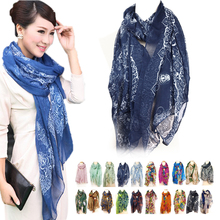 Mix Beauty Color Style Girls Women's Ladies Large Long Soft Neck Scarf Warm Wrap Scarves Shawl (China (Mainland))