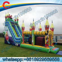 giant inflatable slide for sale,inflatable slide giant,inflatable obstacle course(China (Mainland))