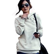 Plus Size New 2015 Spring Autumn Women Sweatshirt Fashion Sport Suit Pullover Hoody Fleece Warm Girls Hoodies Winter Clothing(China (Mainland))