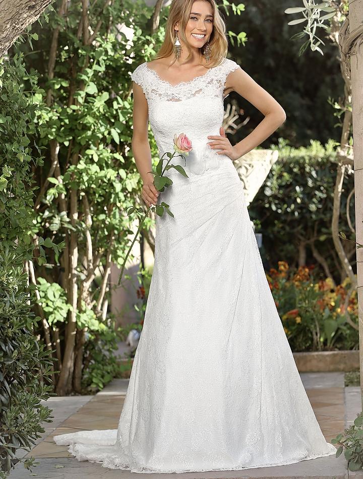 Mermaid Wedding Dresses Pleated : Pleated wedding dress pleats bridal gowns mermaid