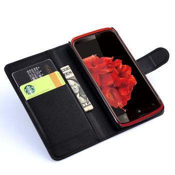 Etui dla Lenovo S820, wysokiej jakości skóra PU w kształcie portfela. Flip Cover