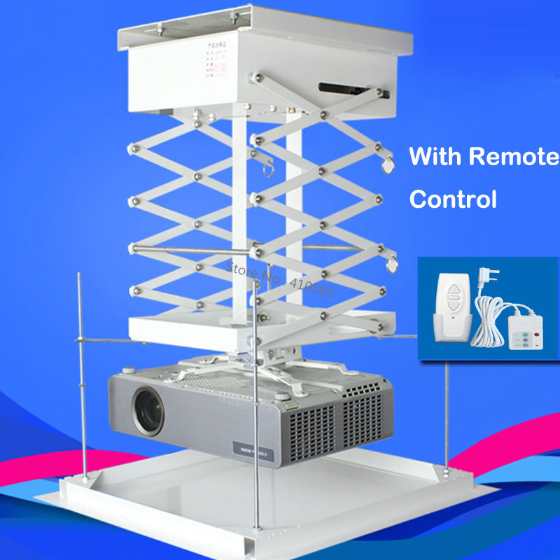 Easy installation good price projector lift 220v to 240v for Motorized ceiling projector mount
