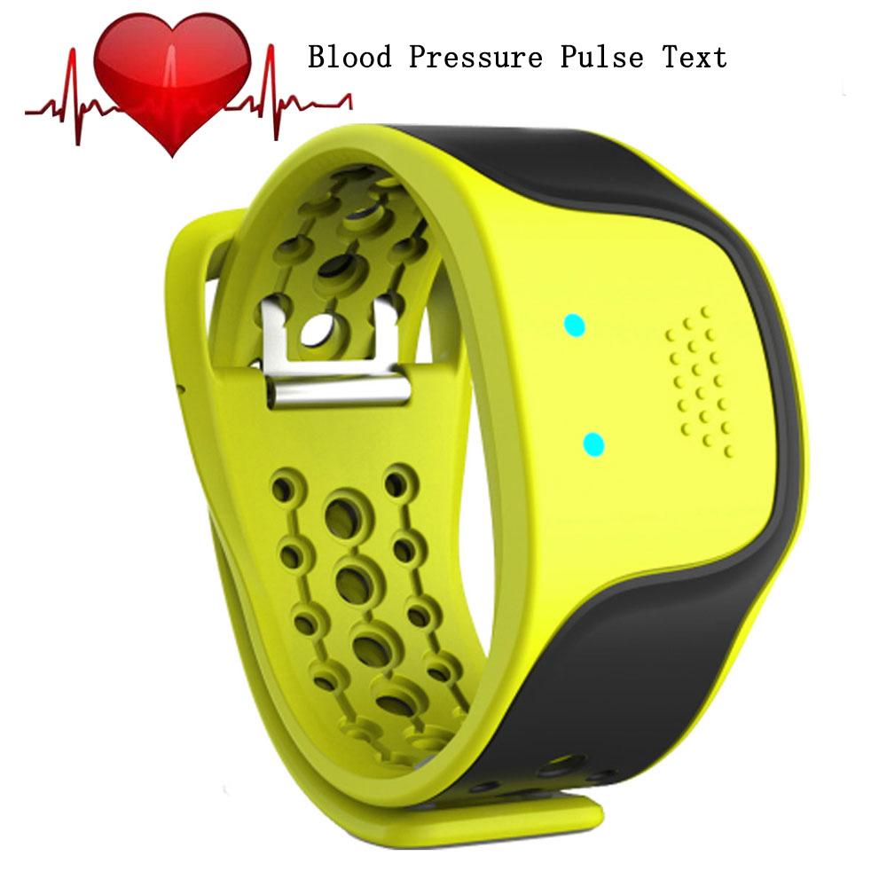 2016 New Fation Bluetooth Smart bracelet blood pressure pulse text Fitness Tracker Wristband Heart Rate Monitor Smartband(China (Mainland))