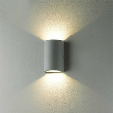 outdoor industrial lighting fixtures up and down led wall scone waterproof garden outdoor led deck lights lampe exterieur murale(China (Mainland))
