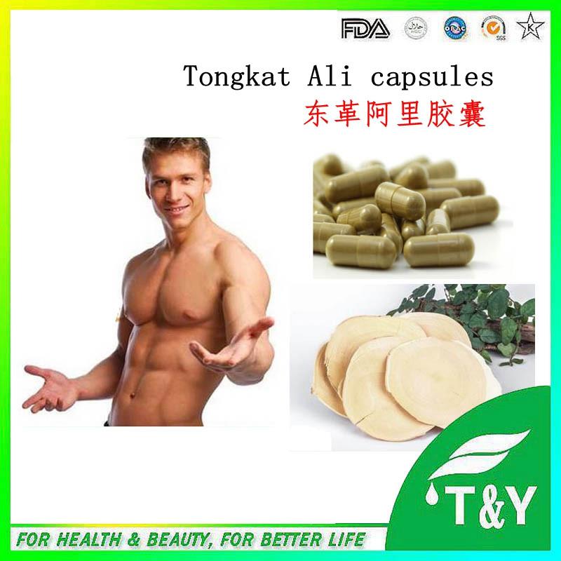 GMP Factory Eurycoma longifolia Tongkat Ali P.E. eurycoma longifolia extract capsules 500mg*400pcs