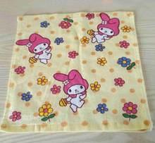 30x30 см Мягкое хлопковое полотенце с героями мультфильмов для маленьких мальчиков и девочек, впитывающее полотенце, носовой платок(China)