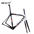 2016 BXT Brand Super Light Di2 Carbon Road Bicycle Frame Size 500 530 550mm Hot Sale