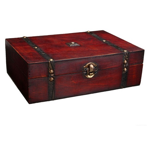 Vintage Jewelry Storage Box Wooden Organizer Case Wood Box China Antique Retro Jewellery Candy Container Case New Free Shipping(China (Mainland))