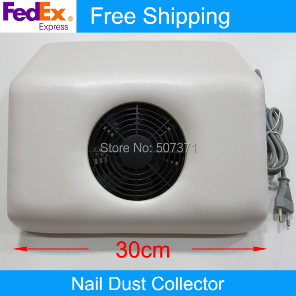 Fedex Free Shipping High Quality Professional Nail Dust Collector Nail Fan 12 pcs/lot(China (Mainland))