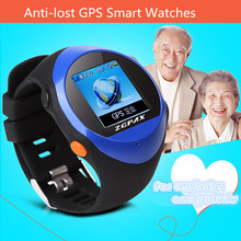 Waterproof Anti-lost GPS Smart Wristwatches Multi-Functions Bluetooth Watch For Children/Old People Smartwatch For SOS/SIM Card
