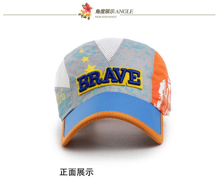 2015 Новые Летние Бейсболки для Детей Snapback Шапки Сетки Дышащий Повседневная Открытый Спорт Регулируемые Шляпы Для 8-16 лет