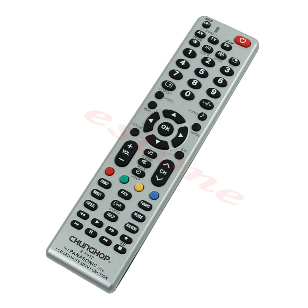 A31 New Universal Remote Control E-P912 For Panasonic Use LCD LED HDTV 3DTV Function Wholesale&Retail(China (Mainland))