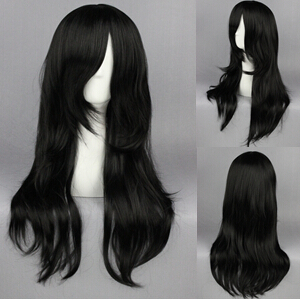 Free Shipping 65cm Naruto-Orochimaru Black Straight Synthetic Anime Cosplay Wigs CS-162A<br><br>Aliexpress
