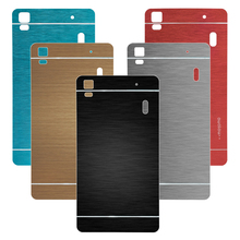 For Lenovo K3 note Case Brushed Cover + Aluminum Metal Hard Cover Case For Lenovo A7000 K3 note Mobile phone bags and cover