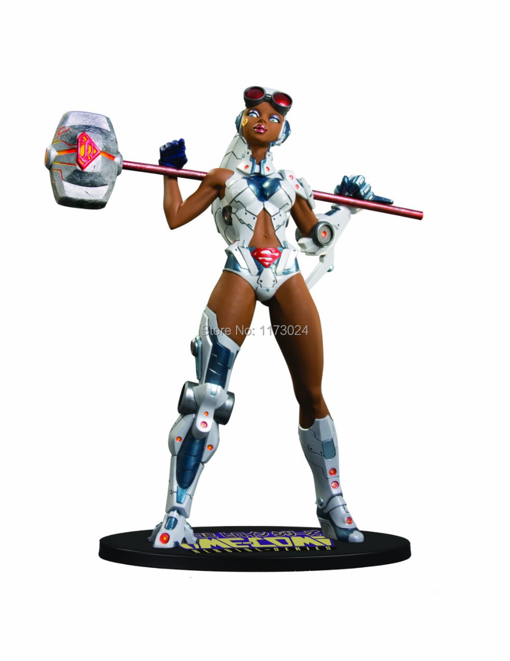 """POP Classic Animation DC Direct Ame-Comi Heroine Series Steel Sexy 7"""" PVC Figure Toy New In Box(China (Mainland))"""