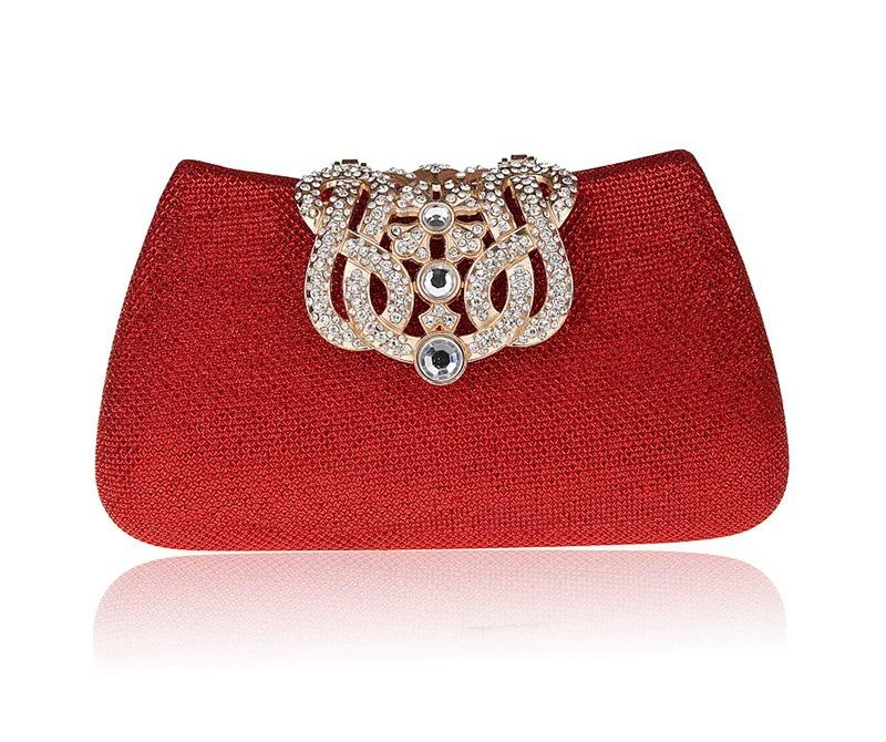 New Diamond Evening Bag Women Masonry Clutch Bag Fashion Multicolor Wild Style Wedding Shoulder Bag High Quality Day Clutches<br><br>Aliexpress