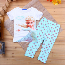 New Fashion Girls Pajamas set 100 Cotton Baby girls Cute Autumn Winter Pajamas Kids Sleepwear Long