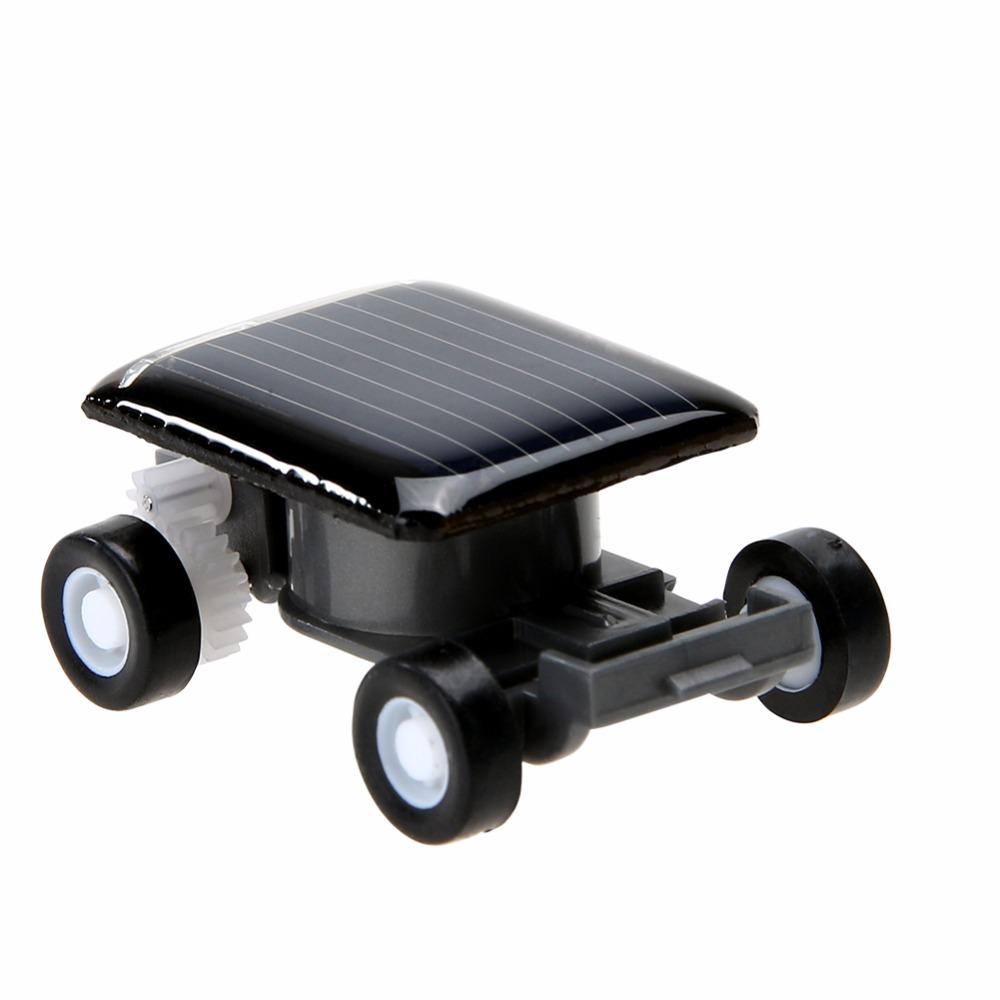 Smallest Mini Car Solar Powered Toy Car New Mini Children Solar Toy Gift Baby Kid Solar Car Toy(China (Mainland))