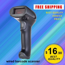 Freeship! JP-A1 Handheld Barcode Scanner laser barcode reader handheld wired USB barcode scanner 1D codes reader