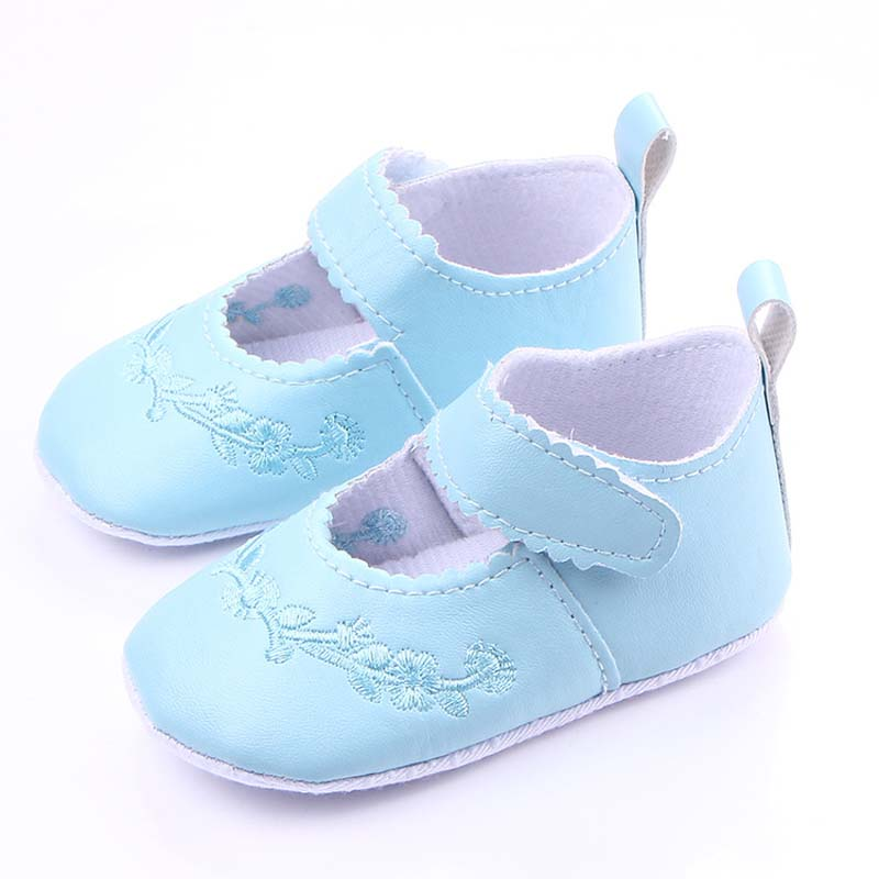 Cute Embroidered Baby Shoes Leather Baby Moccasins Baby Girl Shoes Leather Shoes for toddler Sapatos de bebe menina, CBLH361(China (Mainland))