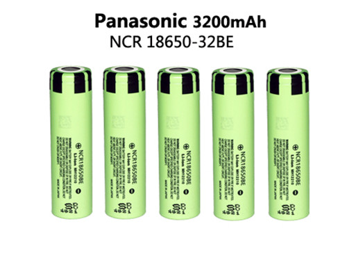 5pcs original 18650 battery electronic cigarette Lithium battery NCR18650BE 3.7V 3200 mAh applicable for Panasonic<br><br>Aliexpress