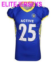 Custom ELITEJERSEYS 2017 American Football Jerseys Throwback USA Soccer Sport Odell Beckham Jr Elite Mens Women Youth Jersey 6XL(China (Mainland))