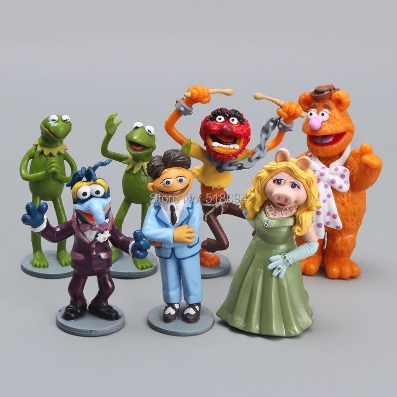 5sets/lot Free Shipping Anime Cartoon The Muppets PVC Action Figure Model Toys Dolls 7pcs/set Christmas Gift Child Toys DSFG117<br><br>Aliexpress
