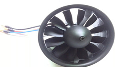 105mm Electric ducted fan with brushless motor 4250 1200KV with balancing treatment for J-10A 6S setting J10 J-10 Jet plane(China (Mainland))