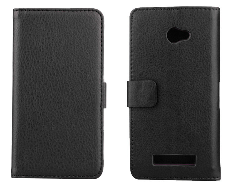 Luxury Leather Phone Case For HTC C620D C620E Vintage Wallet Cover For HTC 8X Case Leather Flip Magnetic Stand Card Holders(China (Mainland))