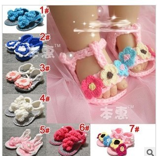 Free shipping baby shoes, wool-made shoes, lovely sandals for baby, colorful hand-made shoes, wholesale girls sandals,weave