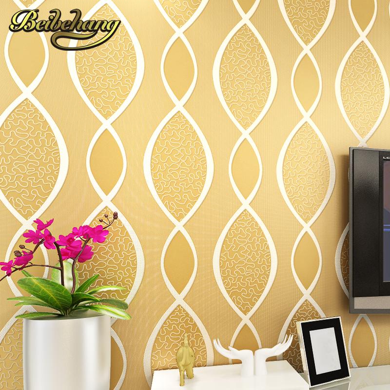 yellow stripe wallpaper beurteilungen online einkaufen yellow stripe wallpaper beurteilungen. Black Bedroom Furniture Sets. Home Design Ideas