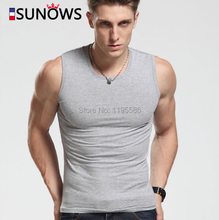 Men's Tank Tops Fashion 100% Cotton Brand Sport Sleeveless Undershirts For Male Bodybuilding Tank Tops White Casual Summer Vest(China (Mainland))
