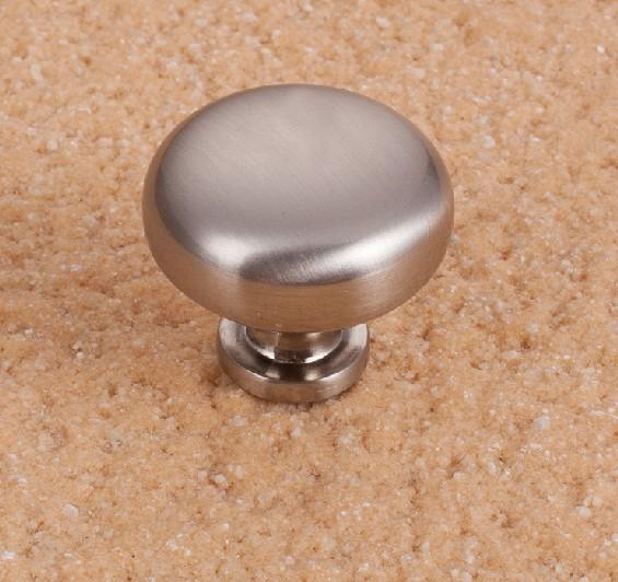 Cabinet Knob Solid Satin Nickel Drawer Cupboard Knob Handles Pulls 28mm Zinc Alloy<br><br>Aliexpress