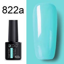 #86102 GDCOCO 2019 Nova Chegada Gel Cartilha Verniz Soak Off LED UV Gel Unha Polonês Camada De Base Não Limpe top Polonês Gel Cor(China)