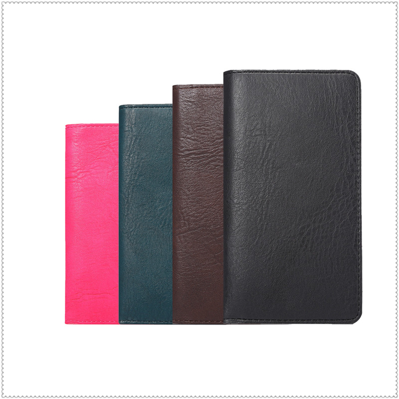 2016 New PU Leather Protection Phone Case Card Wallet 4 Colors Intex cloud X+,cloud FX  -  HUANZHAN 3c factory Store store