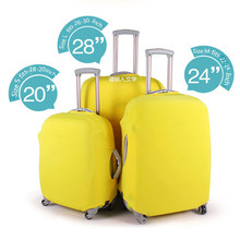 Travel Luggage Suitcase Protective Cover Stretch Dust Covers for 20/24/28inch SuitCases Protector Accessories RD879209(China (Mainland))
